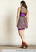 Stylish Silhouette Tube Dress in Plum