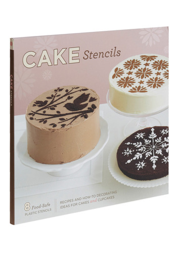 Cake Stencils by Chronicle Books - Pink, Handmade & DIY