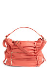 Guav-on Your Way to Success Bag - Pink, Solid, Buckles, Exposed zipper, Pockets, Casual, Spring, Summer, Orange