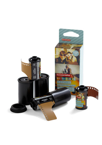 Lomography Redscale XR 35mm Film by Lomography - Travel