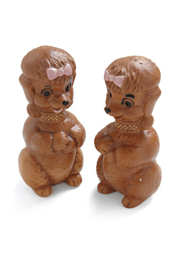 Vintage Salt and Pup-per Shakers