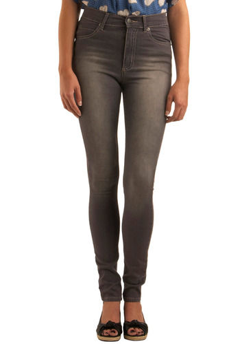 "Just a Second Skin Jeans - 32"" - Grey, Casual, Fall, Solid, Pockets, Long"