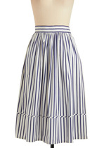 Vintage Breezy as Can Be Skirt
