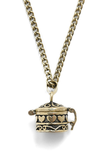Secret Storer Necklace - Gold, Chain