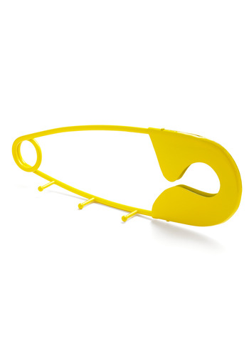 Some-pin to Hang Onto Wall Hook - Yellow, Cutout