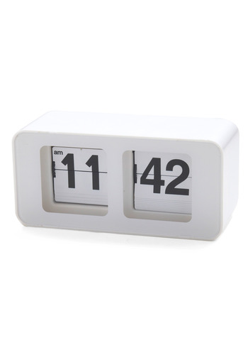 Time Peace Clock - White, Dorm Decor