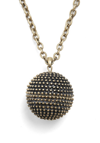 Glamorous Globetrotter Necklace - Gold, Chain