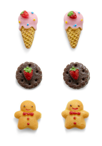 Three's Yum-pany Earring Set - Multi