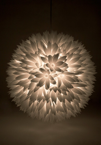 Flower Surge Light - White, Flower, Show On Featured Sale