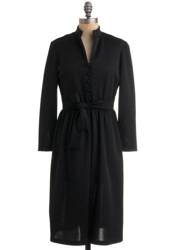 Vintage Law School Chic Dress