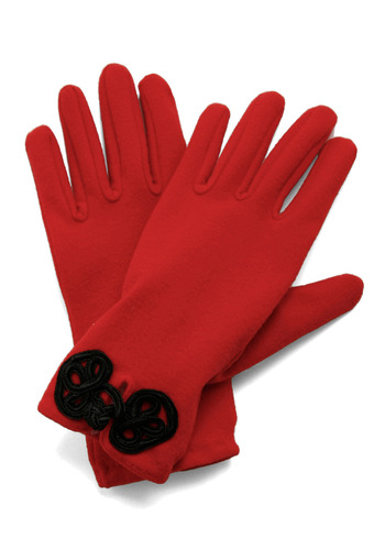 Glove Story - Red, Black, Solid, Winter, Holiday Sale