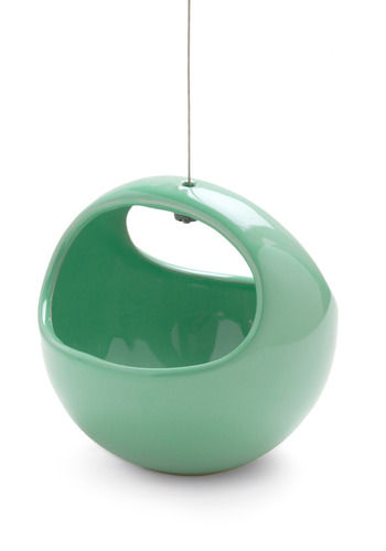Growing Up Hanging Planter in Earth - Green, Spring, Summer, Fall, Winter