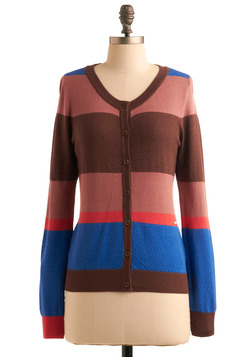 Chocolate Berry Parfait Cardigan