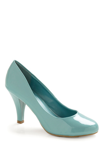 Neap Tide Heel - Blue, Solid, Wedding, Party, Spring, Summer, Fall