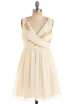 Gilded Grecian Dress