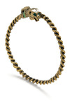 Orchid Grey Bracelet - Gold, Green