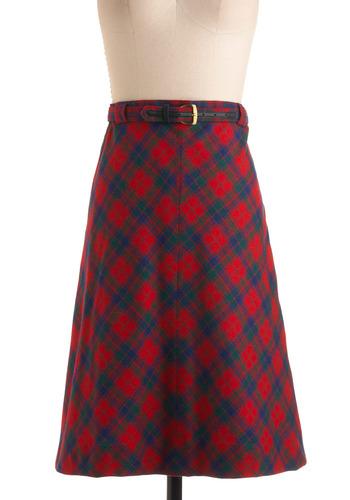 Vintage Set Wassailling Skirt
