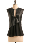 Shale We Dance Top - Black, Solid, Cap Sleeves, Party, Fall, Mid-length