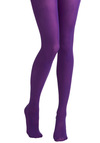 Tights for Every Occasion in Violet by Tabbisocks - Purple, Solid, Fall, Winter, Girls Night Out, Best Seller, Statement, Top Rated