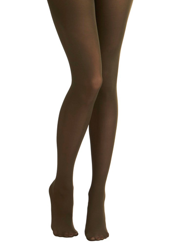 Tights for Every Occasion in Olive by Tabbisocks - Green, Solid, Winter