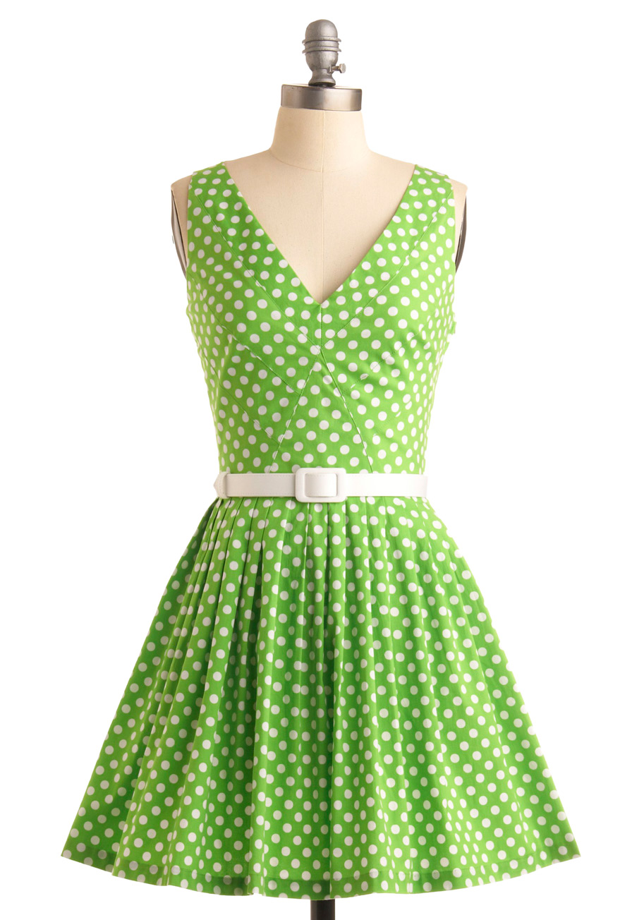 Ny Collection Plus Size Polka Dot Mesh Dress - Green 1X. Ideal for transitioning from day to dinner, this polka dot plus size dress from Ny Collection offers a flattering fit & flare silhouette and unique mesh details for a look that is totally charming. more.
