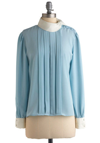 Vintage Perfect Sleeve-ning Top