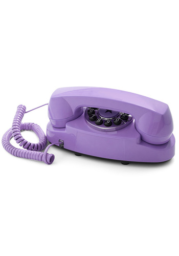 Style Hotline Phone in Violet - Purple, Solid, Spring, Summer, Fall, Winter, Dorm Decor