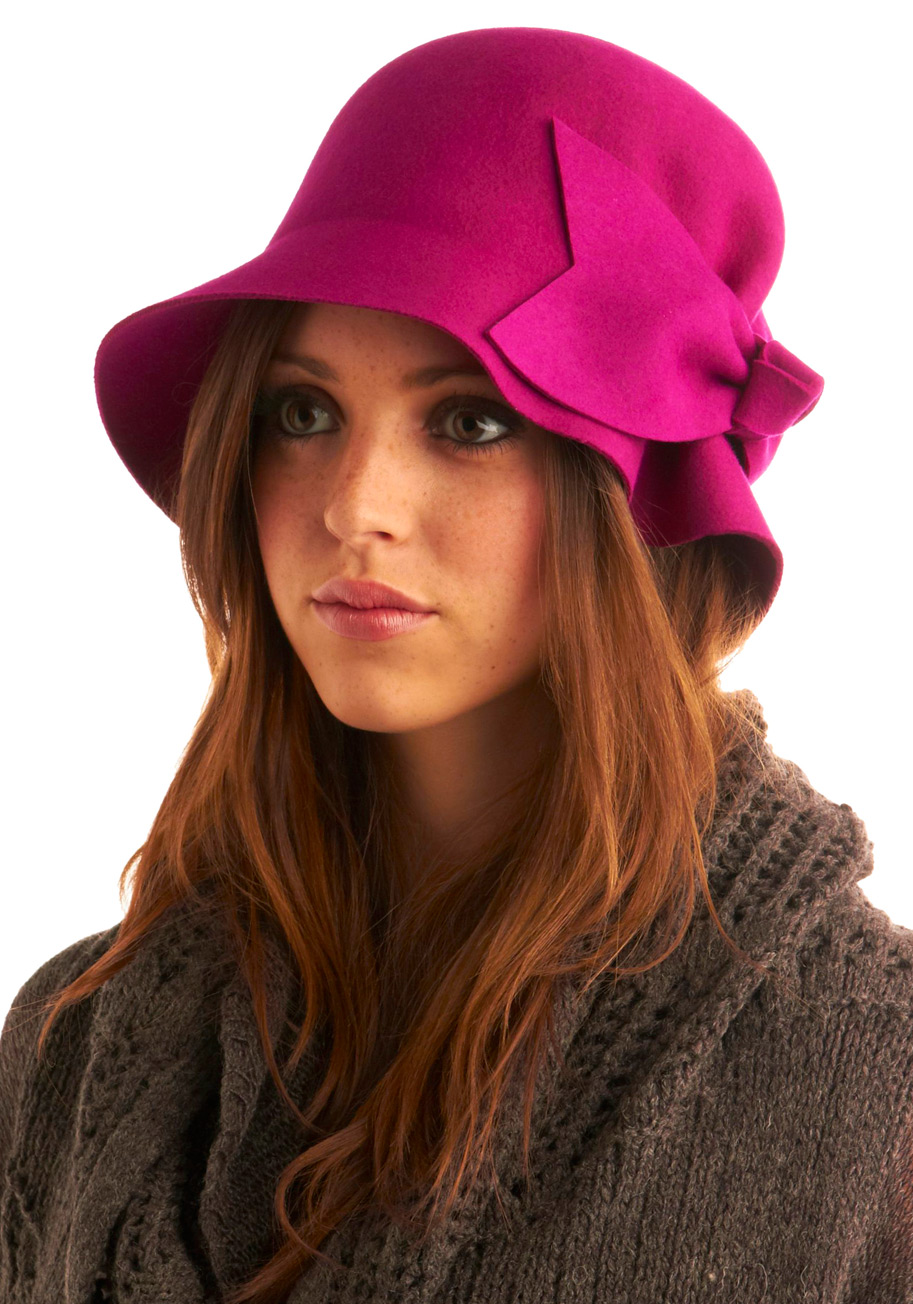 Wear hat how to cloche
