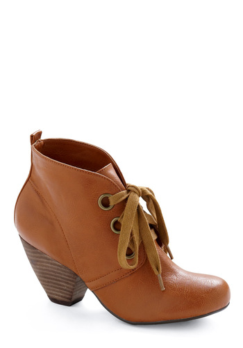 Autumn Adore Boot - Tan, Solid, Casual, Fall, Winter