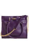 Eggplant for Every Occasion Bag - Purple, Solid, Chain, Work, Casual