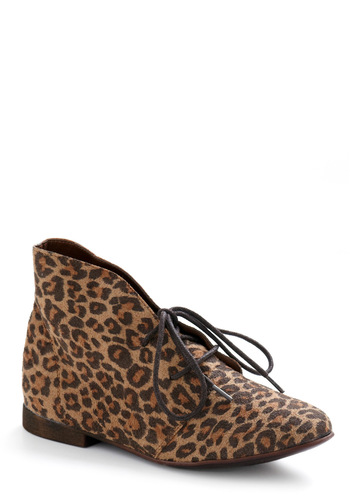Paws and Affect Shoe - Brown, Tan, Animal Print, Casual, Fall, Winter