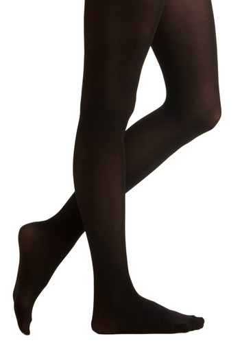 1960s Tights, Panty Hose, Stockings, Knee High Socks Tights for Every Occasion in Black $14.99 AT vintagedancer.com