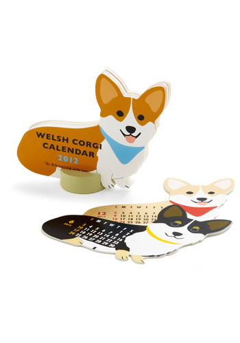 Year of the Critter Calendar in Corgi - Multi