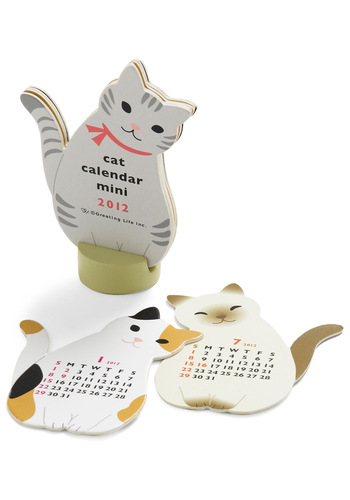 Year of the Critter Mini Calendar in Cat - Multi