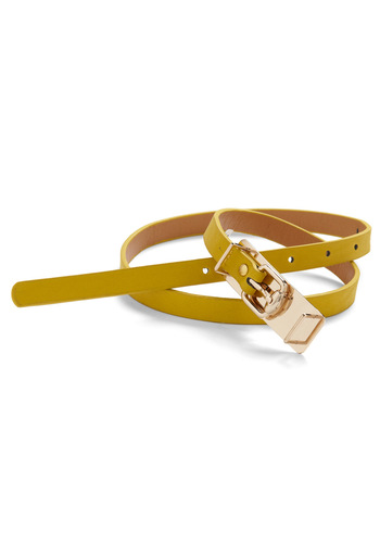 Earth, Wind, Attire Belt in Sun - Yellow, Gold, Solid
