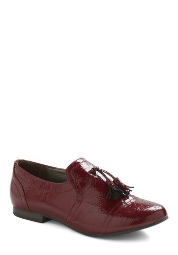 Golfing in Georgia Flat - Red, Solid, Fringed, Work, Casual, Fall, Winter, Vintage Inspired, 20s, 30s, Menswear Inspired
