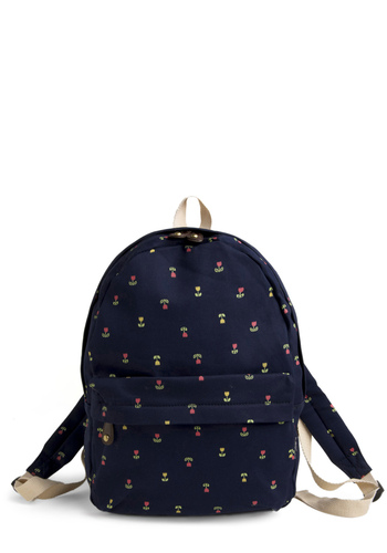 Backpack in the Day - Blue, Green, Pink, Floral, Yellow