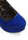 Betsey Johnson Shoe Velvet Wedge