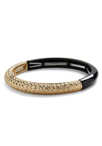 Half It All Bracelet - Black, Gold, Party