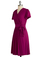The Fuchsia of Fashion Dress