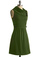 Coach Tour Dress in Vert