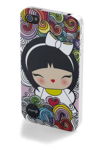 Be a Doll and Call iPhone Case in BFF - Multi, Kawaii