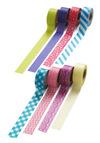 Roll With It Paper Tape Set - Multi, Neon