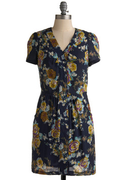 Floral Fanfare Dress