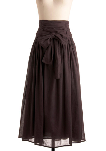 in tandem midi skirt in charcoal mod retro vintage