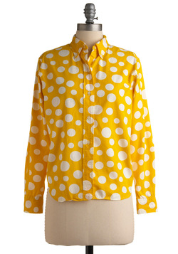 Vintage Yellow Again Top