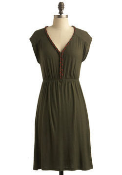 Olive or Twist Dress