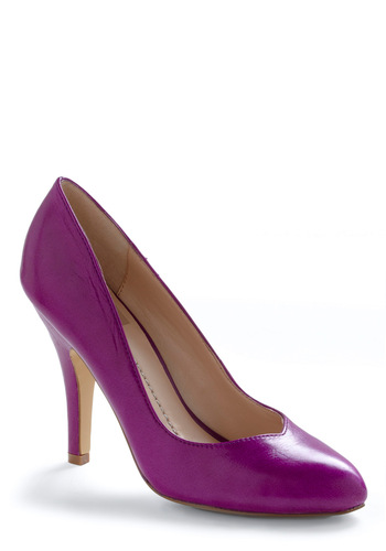 Pump Up the Playlist Heel in Fuchsia by Dolce Vita - Purple, Solid, Prom, Wedding, Party, Spring, Summer, Fall, 80s