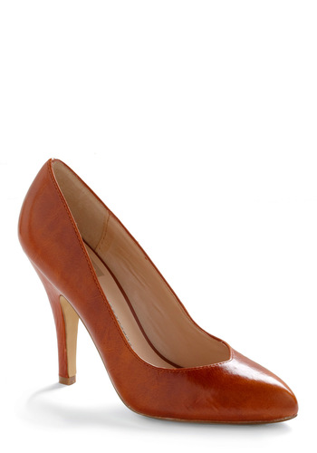 Pump Up the Playlist Heel in Fawn by Dolce Vita - Brown, Tan, Solid, Party, Spring, Fall, 80s