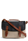 A Good Ternion Bag - Blue, Tan, Cream, Work, Casual, Spring, Summer, Fall